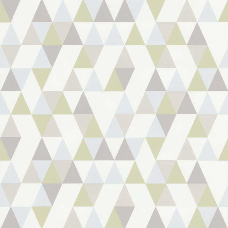 papier peint triangle hej vert 218184 de la collection. Black Bedroom Furniture Sets. Home Design Ideas