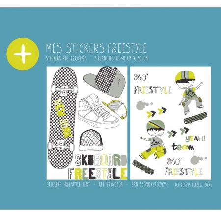 STICKERS FREESTYLE VERT – 27160104