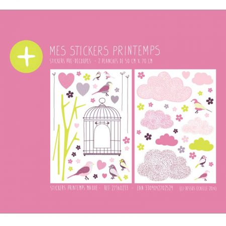 STICKER PRINTEMPS MAUVE – 27160213