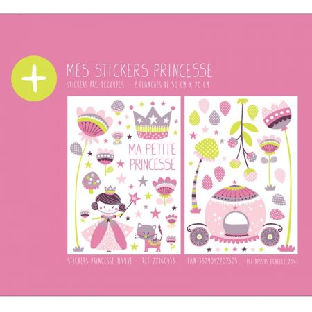 STICKER PRINCESSE MAUVE – 27160413
