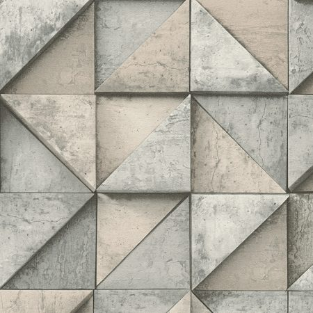 TRIANGLE 3D BEIGE/GRIS – 306501