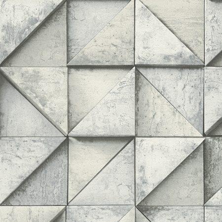 TRIANGLE 3D GRIS – 306502