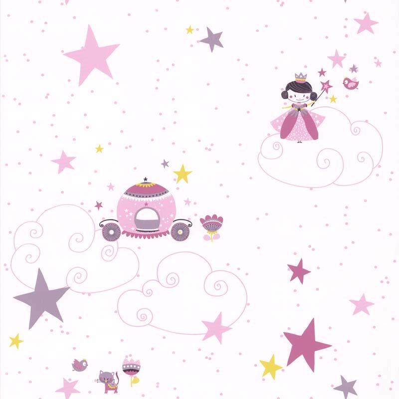 papier peint princesse parme 36160813 de la collection. Black Bedroom Furniture Sets. Home Design Ideas