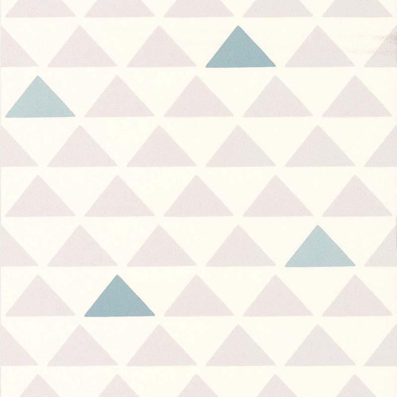 Papier peint TRIANGLE BLEU/GRIS - 51145701 de la collection papier ...