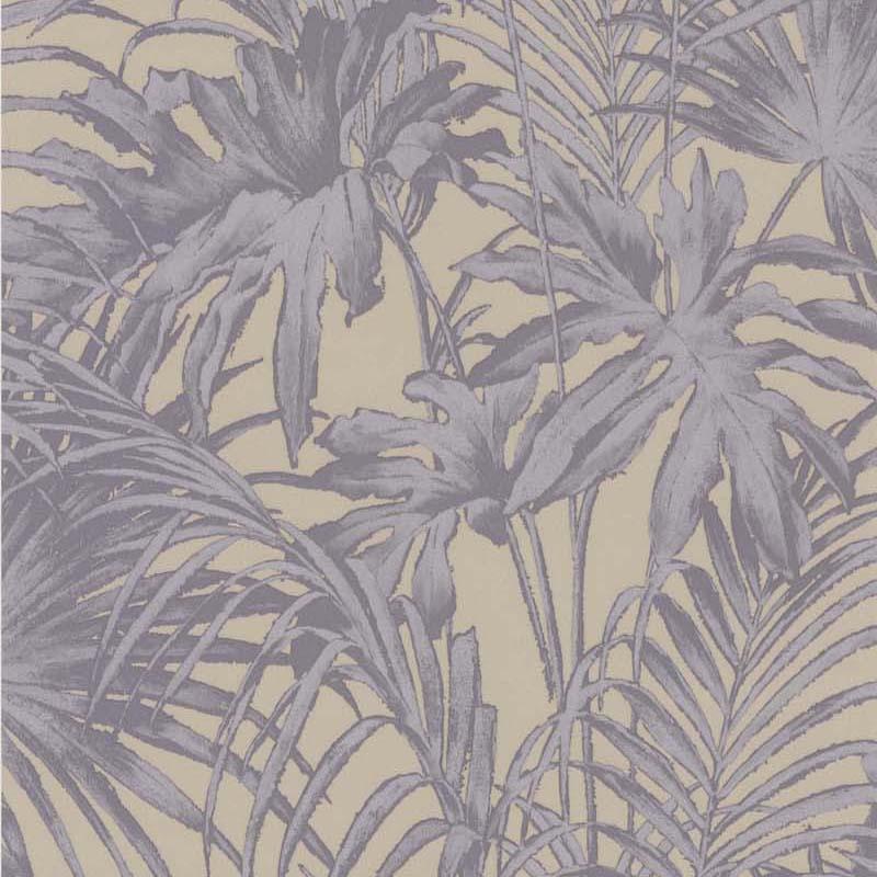 Papier Peint Feuillage Violet 51157803 De La Collection Papier