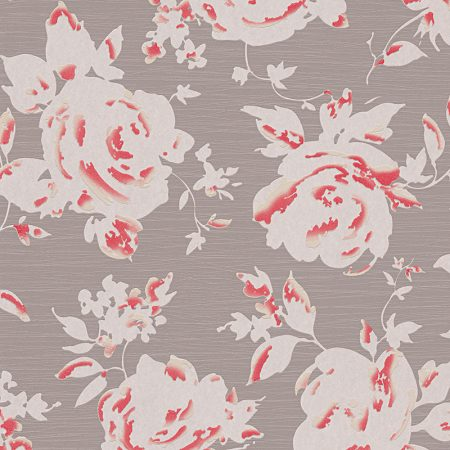 BOUQUET ROUGE FOND TAUPE – 960084