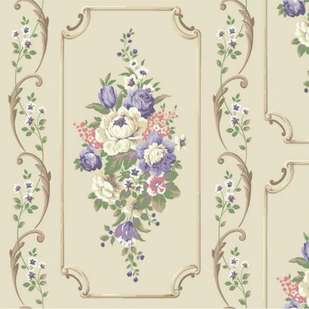 FLORAL TAUPE/LILAS – BA4504