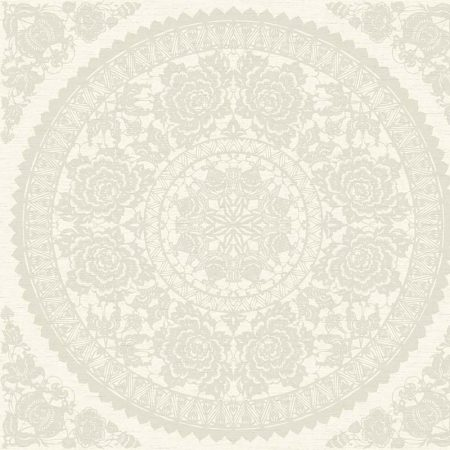 MEDAILLON BLANC BEIGE – CH70808