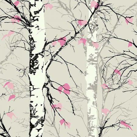 TREES GRIS ET ROSE  – EC52201