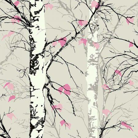 TREES GRIS ET ROSE  – EC52201
