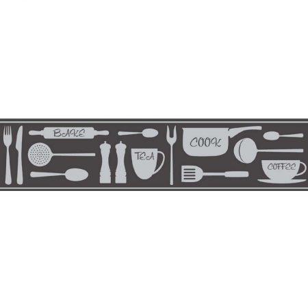 Frise adhésive COOK NOIR -FDB50046