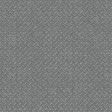 DIAMOND PLATE GRIS METAL – G45174