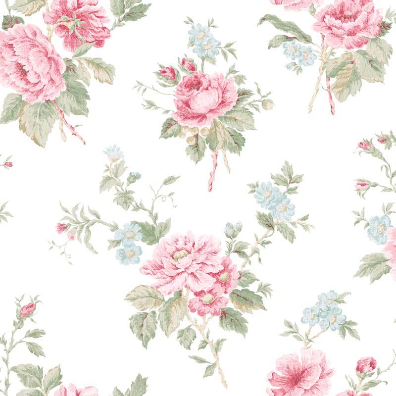 Papier Peint Fleurs Rose G67289 De La Collection Papier Peint