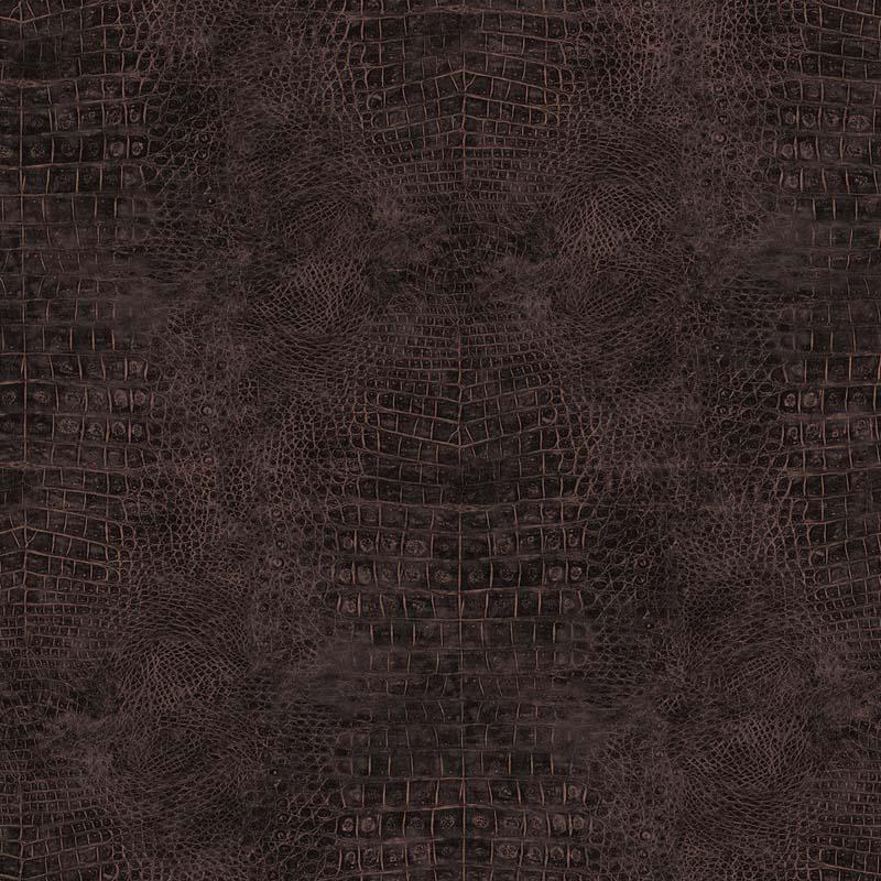 Papier peint CROCODILE MARRON - G67500 de la collection papier peint ...