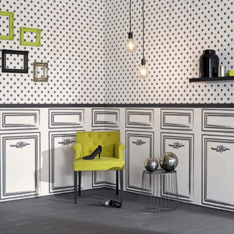 jouez soyez original avec le papier peint conseils d co lut ce papier peint. Black Bedroom Furniture Sets. Home Design Ideas