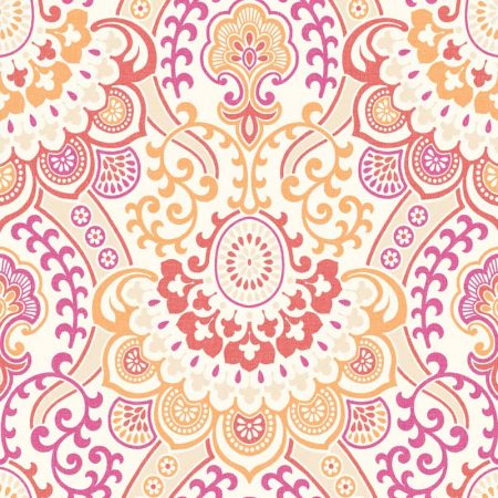 DAMASK ORANGE/FUSCHIA – PA16864
