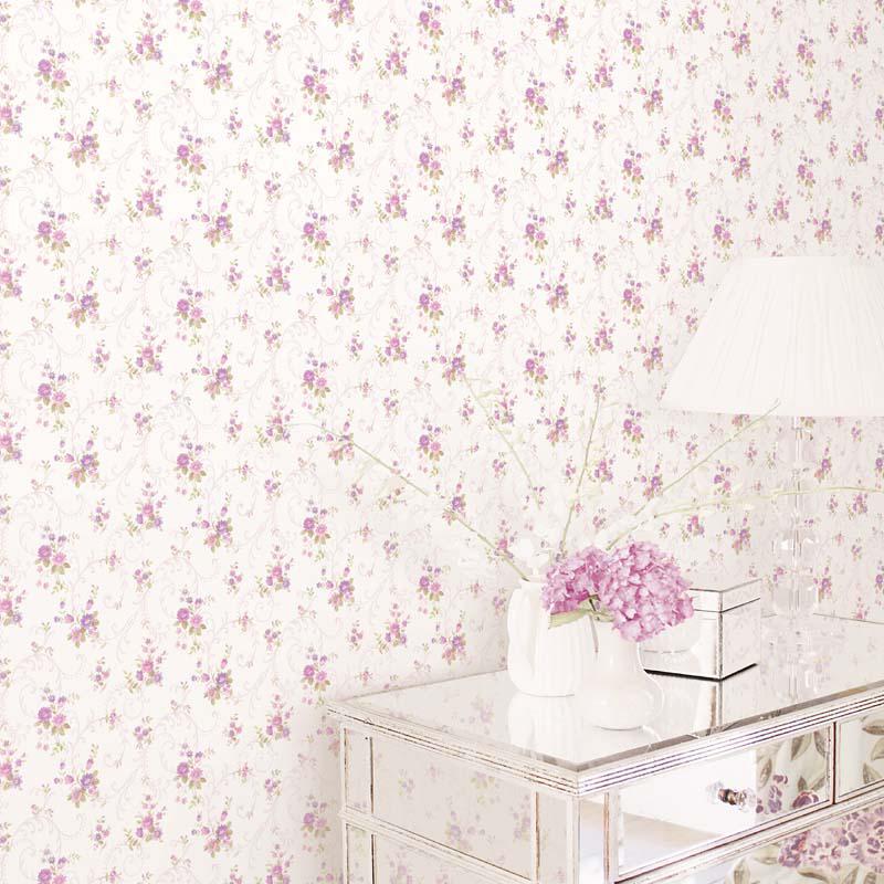collection papier peint pretty prints 4 papier peint classique charme floral v g tal. Black Bedroom Furniture Sets. Home Design Ideas