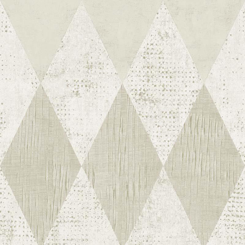 Papier peint losange beige tn50400 de la collection - Papier peint losange ...