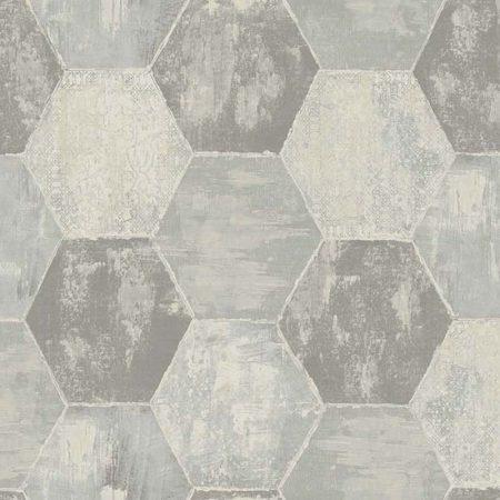 MOSAIQUE HEXAGONE GRIS – TN50501