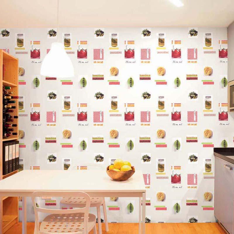 Collection papier peint cuisines bains papier peint - Papel vinilico para cocinas ...