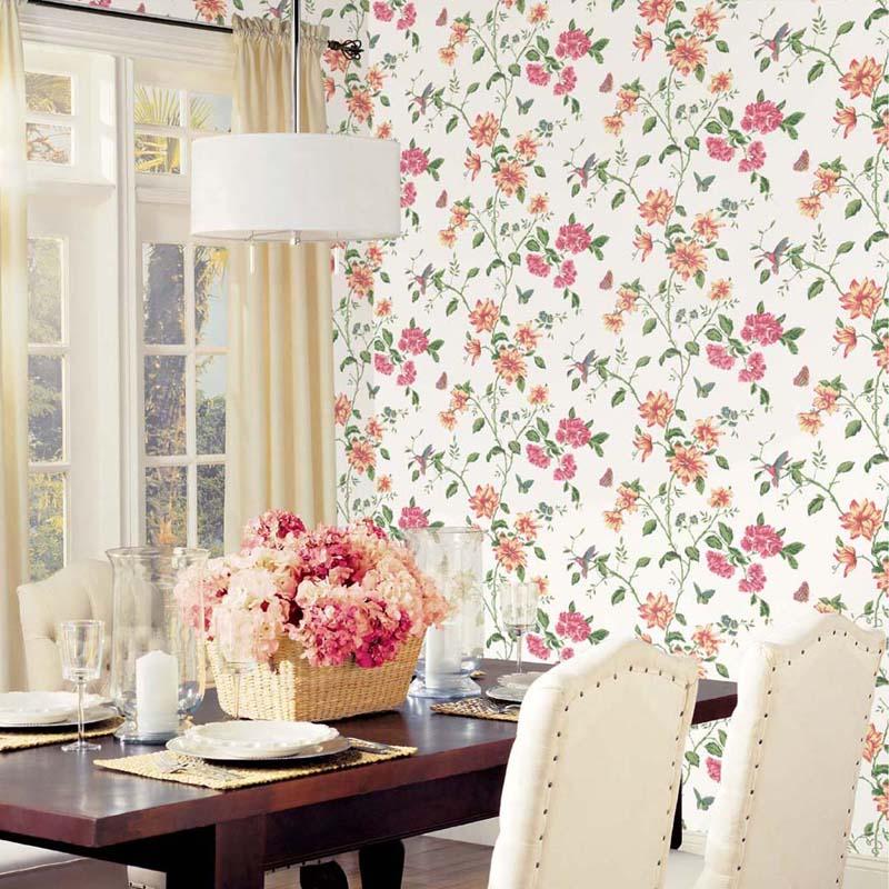 English Florals - HUMMINGBIRD VERT - G34300