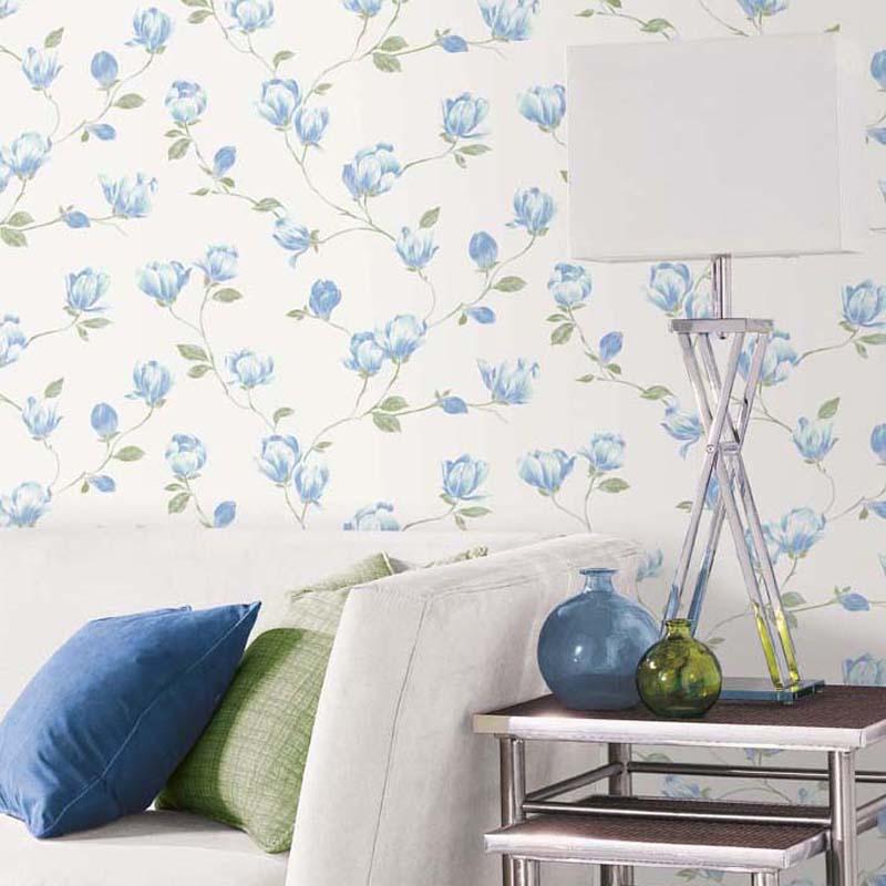 English Florals - MAGNOLIA BLEU - G34325