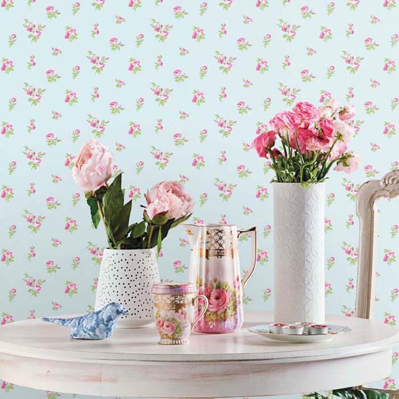 English Florals - SMALL ROSE BLEU - G34346