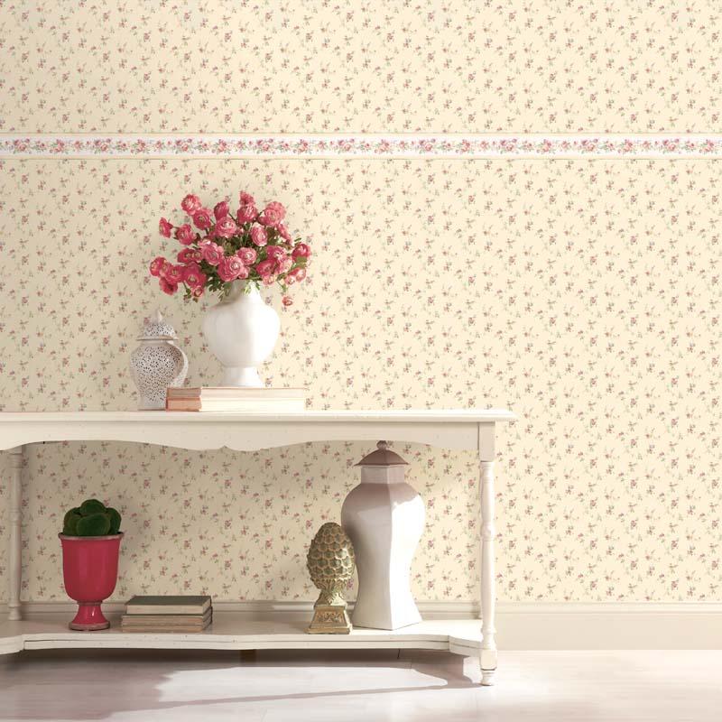 Floral Prints 2 - GUIRLANDE FLORALE ROSE - PR33808