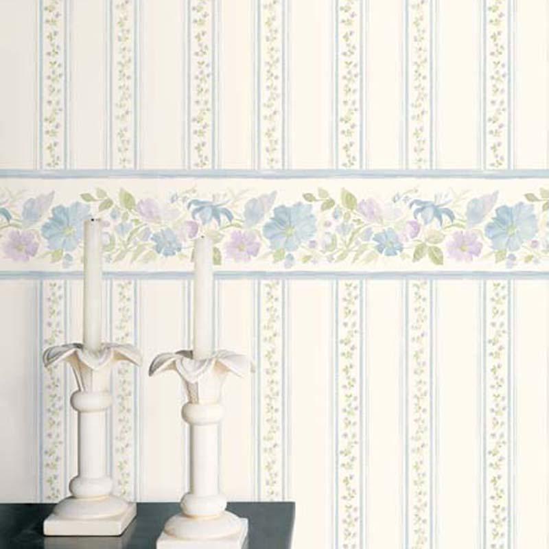 Floral Prints 2 - RAYURE LILAS BLEU - PR33868