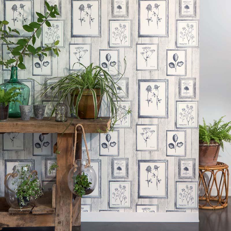collection papier peint garden party papier peint classique charme floral v g tal. Black Bedroom Furniture Sets. Home Design Ideas