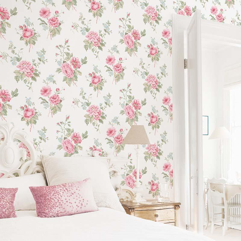 collection papier peint jardin chic papier peint classique charme floral v g tal. Black Bedroom Furniture Sets. Home Design Ideas