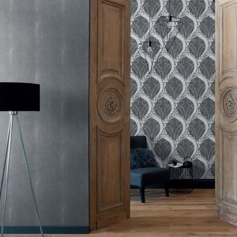 collection papier peint soraya papier peint classique charme ornemental. Black Bedroom Furniture Sets. Home Design Ideas