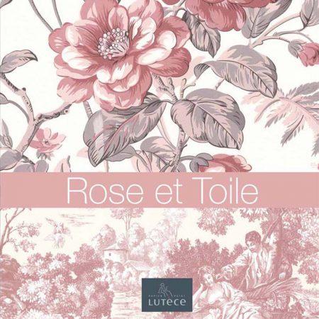 Rose et Toile