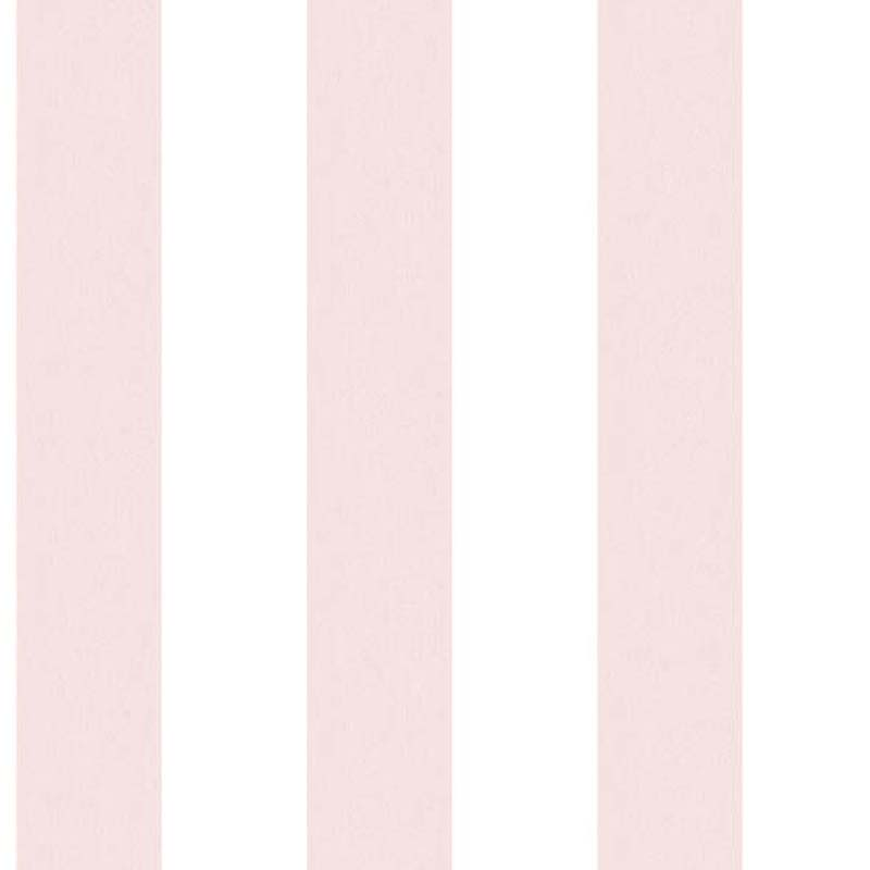 Papier Peint Rayure Rose Blanc G67585 De La Collection Papier