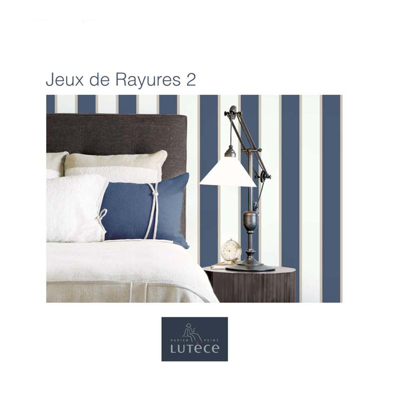 collection papier peint jeux de rayures 2 papier peint uni rayure. Black Bedroom Furniture Sets. Home Design Ideas