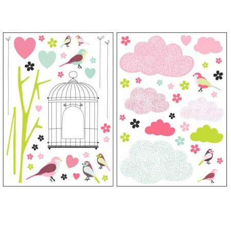 STICKER PRINTEMPS ROSE – 27160203