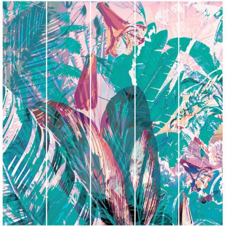 DECOR MURAL TROPICAL 5 LES – 27170104