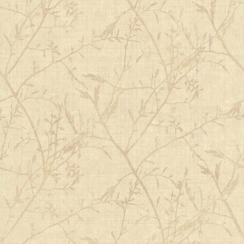 Papier Peint Feuillage Ecru 28170107 De La Collection Papier Peint