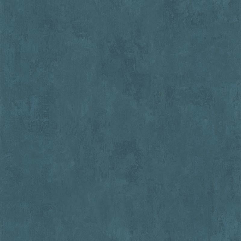 Papier Peint Uni Bleu Canard 51137041 De La Collection Papier