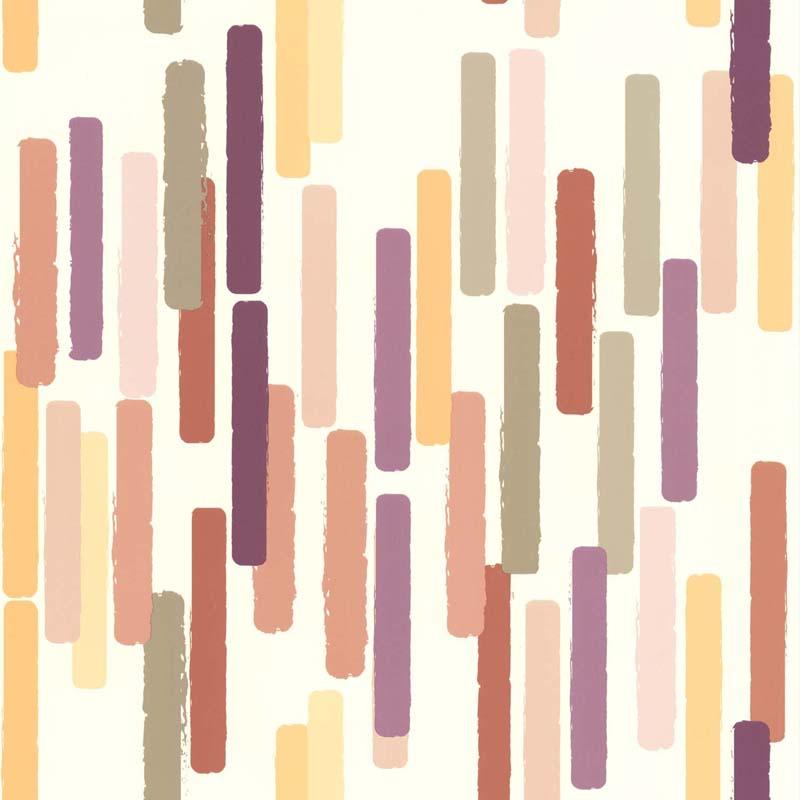 Papier Peint Color Stick Rose 51172603 De La Collection Papier