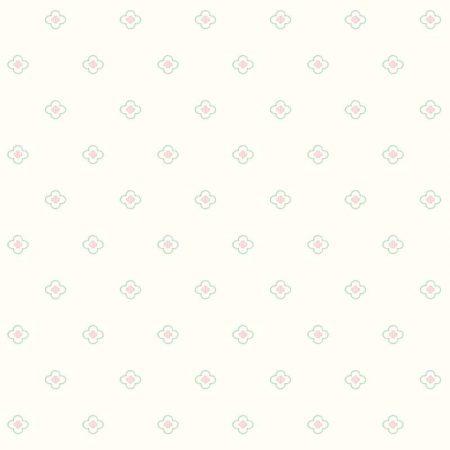 ALLOVER FLEUR ROSE/MENTHE – DW2391