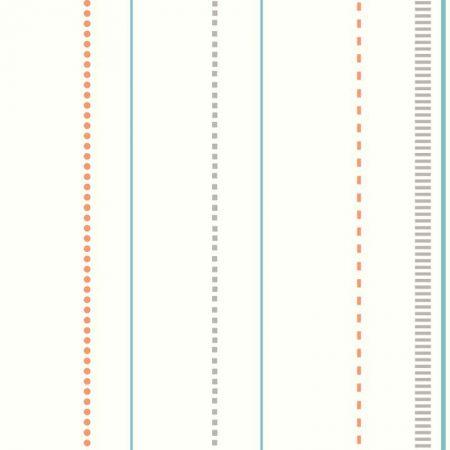 SKYLINE RAYURE BLEU/ORANGE – DW2490