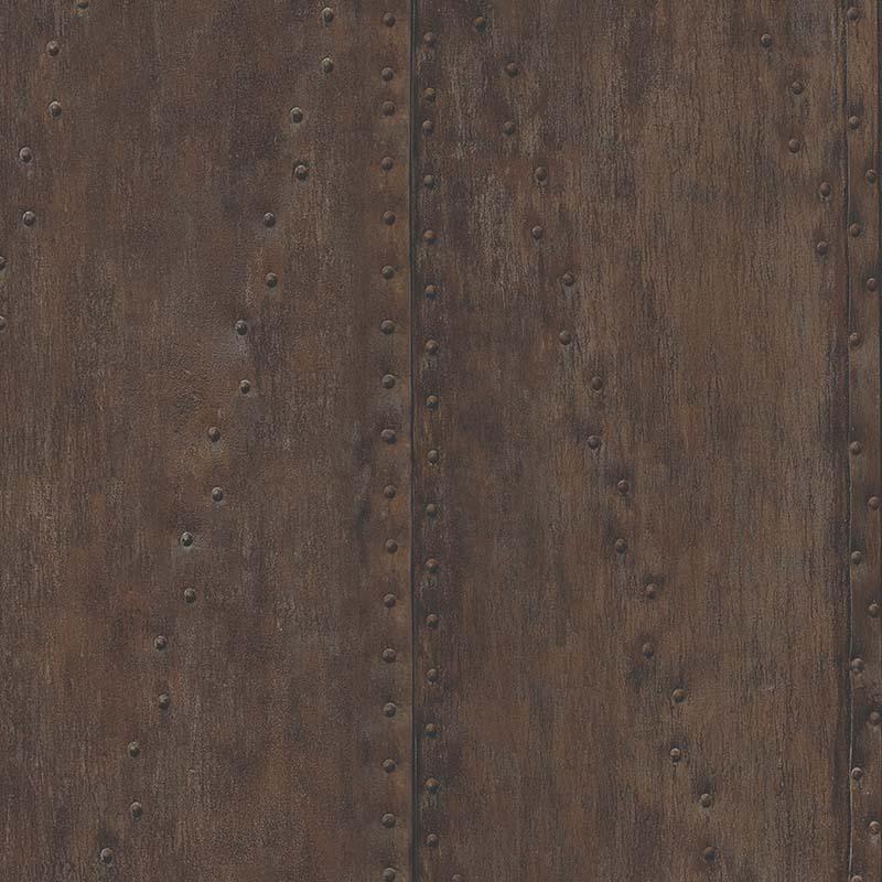papier peint plaque metal rouille ir51001 de la collection papier peint structure lut ce. Black Bedroom Furniture Sets. Home Design Ideas