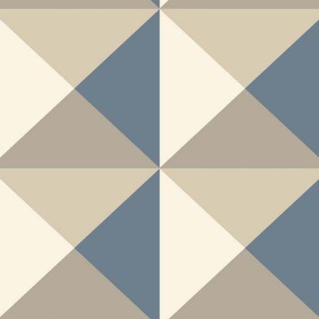 ORIGAMI BEIGE/BLEU – RY2750