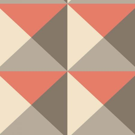 ORIGAMI TAUPE/ORANGE – RY2751