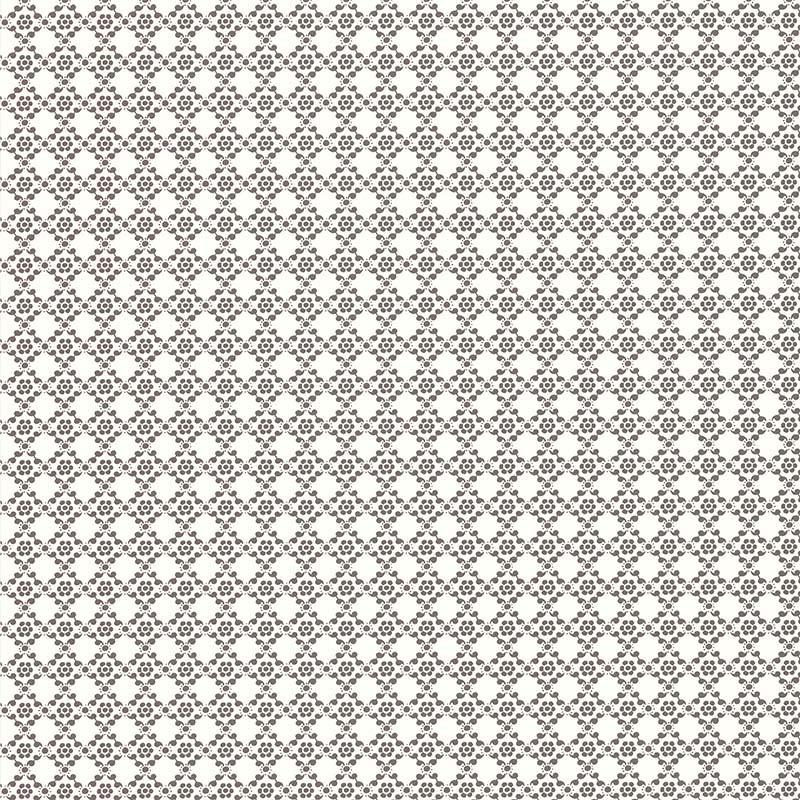Papierpeint Gris Foncé Enfant : Papier peint geometrie florale gris fonce de la