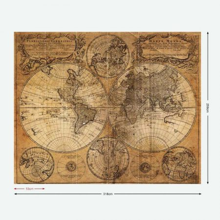 DECOR MURAL MAPS  – G45255