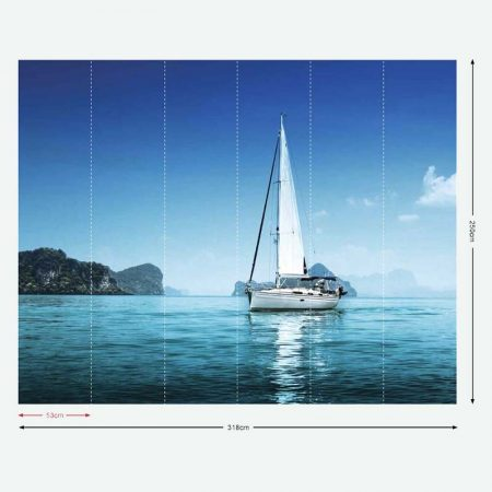 DECOR MURAL YACHT – G45271