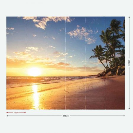 DECOR MURAL TROPICAL SUN – G45273