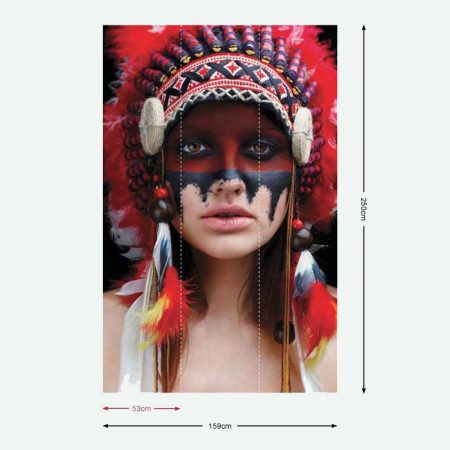 DECOR MURAL NATIVE AMERICAN – G45277